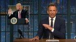 Late-night host Seth Meyers slams Trump's 'clinically insane' press conference